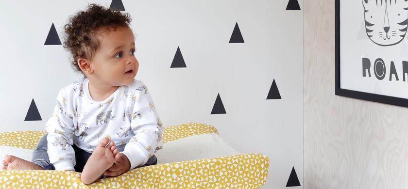 carta da parati cameretta neonato