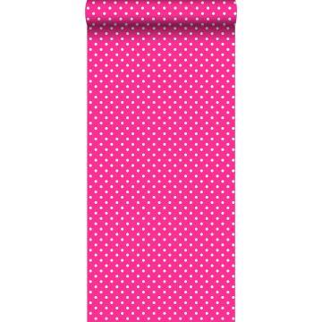 carta da parati puntini rosa