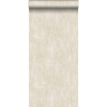 carta da parati liscia con effetto pittorica marrone