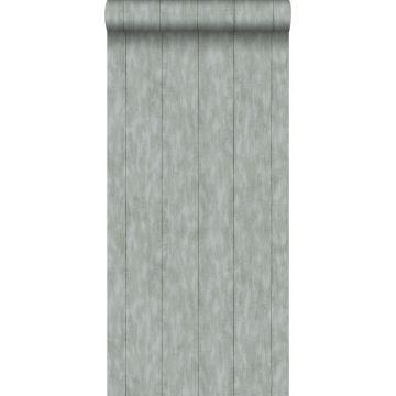 carta da parati legno di scarto grigio