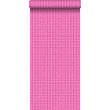 carta da parati ricamo rosa