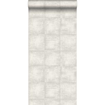 carta da parati calcestruzzo grigio chiaro