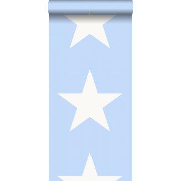 carta da parati stella blu chiaro