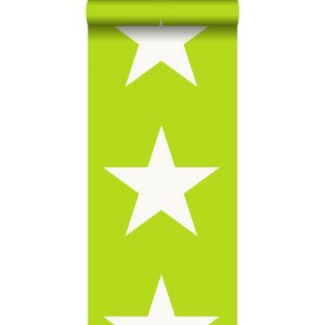 carta da parati stella verde limetta