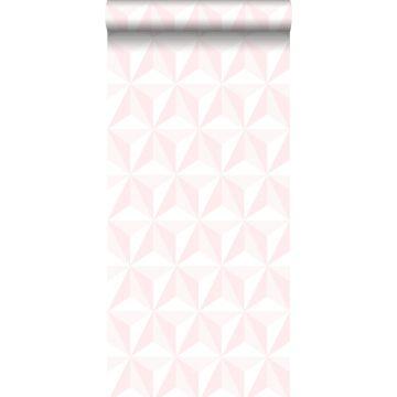 carta da parati 3D grafico rosa chiaro