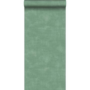 carta da parati aspetto calcestruzzo verde