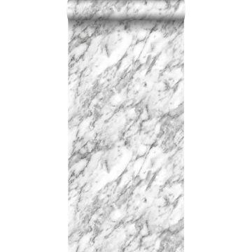 carta da parati marmo bianco e nero
