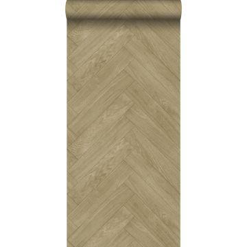 carta da parati motivo di legno marrone cervine
