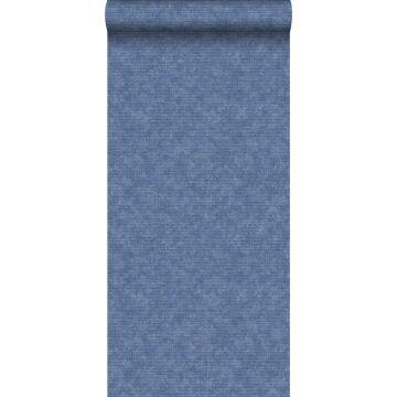 carta da parati liscia blu
