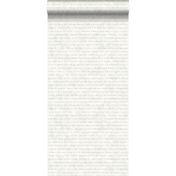 carta da parati testo grigio su sfondo bianco mescolato