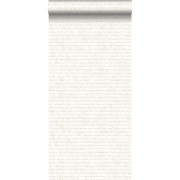 carta da parati testo beige su sfondo bianco mescolato