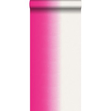 carta da parati dip dye rosa