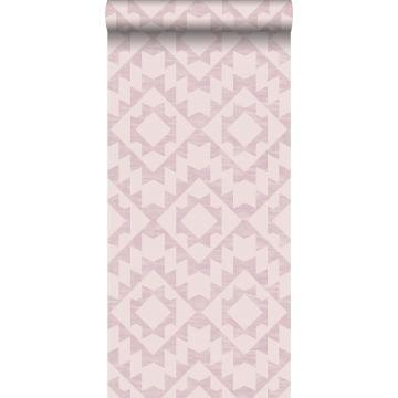 carta da parati tappeto aztec ibiza Marrakech rosa lilla