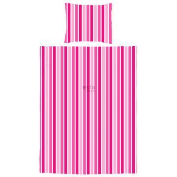 completo compripiumino junior strisce caramelle rosa
