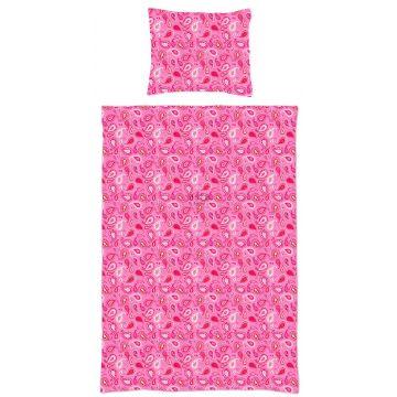 completo compripiumino singolo paisley caramelle rosa