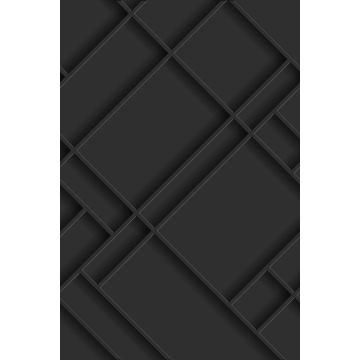 fotomurale pannelli a muro grigio antracite
