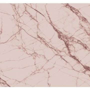 fotomurale marmo rosa grigio