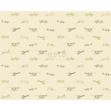 tessuto aerei verde militare