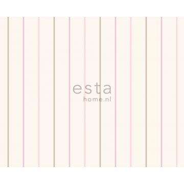 tessuto strisce rosa